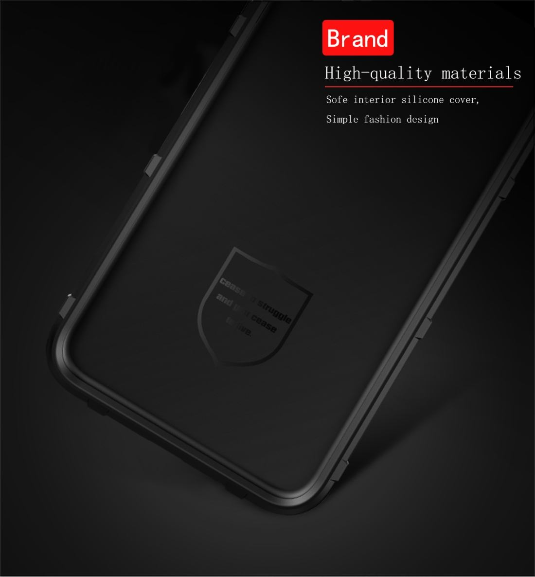 For Samsung Galaxy S10 5G Case, Shockproof Shield Light Armour Cover, Black