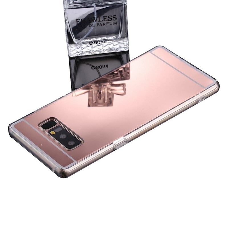For Samsung Galaxy Note 8 Case,Stylish Electroplating Protective Cover,Rose  Gold