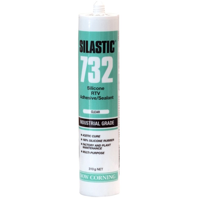 S732CLCT DOW CORNING 310G Silastic Clear Cartridge Silicon 732 Dow Corning