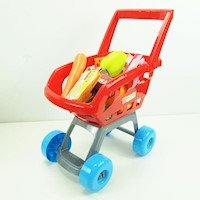 Pretend Play Shopping Cart Play Set