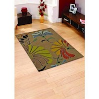 Floral Hand tufted wool Rugs (Made in India)