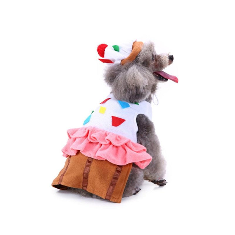 Christmas Pet Costumes.Dog Costumes Holiday Halloween Christmas Pet Clothes Soft Comfortable Dog Clothes