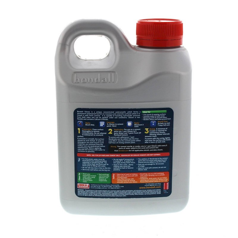 Silasec Waterproofing Cement Additive Concentrate
