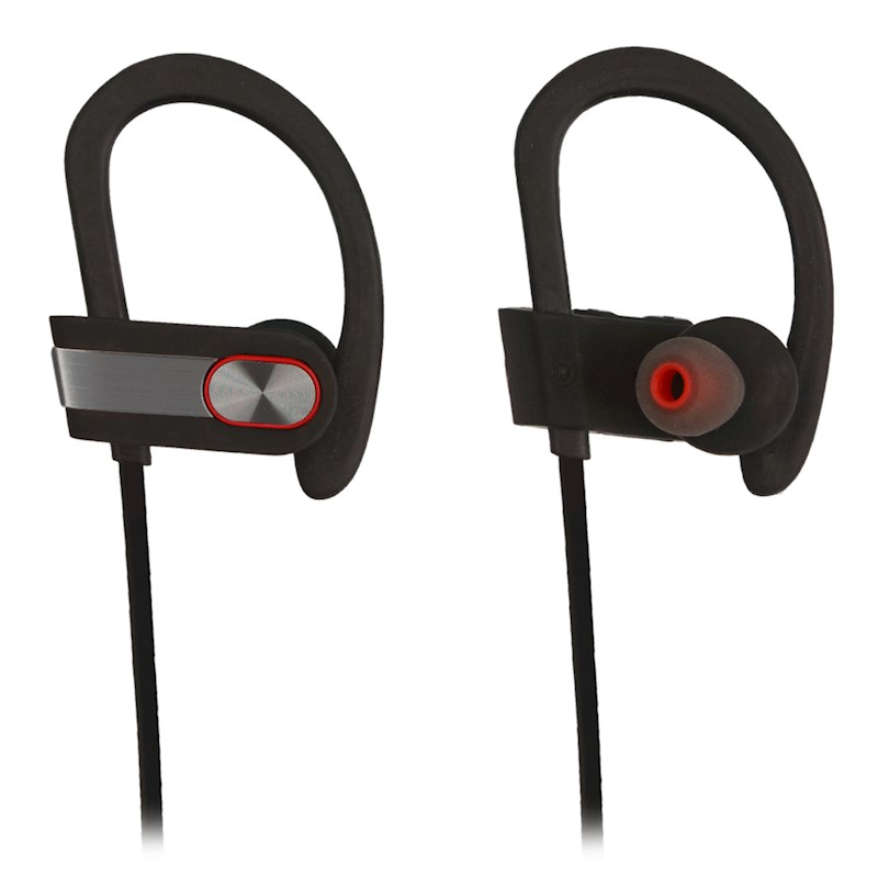53d8d94a534 [REYTID] Wireless Sports Earphones w/ Mic & Vol Control - HD Sound Noise  Isolation while Working Out Gym Sweatproof Behind-Ear Headphones Bluetooth  Earbuds ...