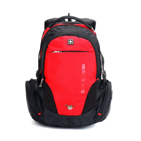 989043ebaea3 Suissewin Swiss Travel School Daily Backpack SN8118 Red