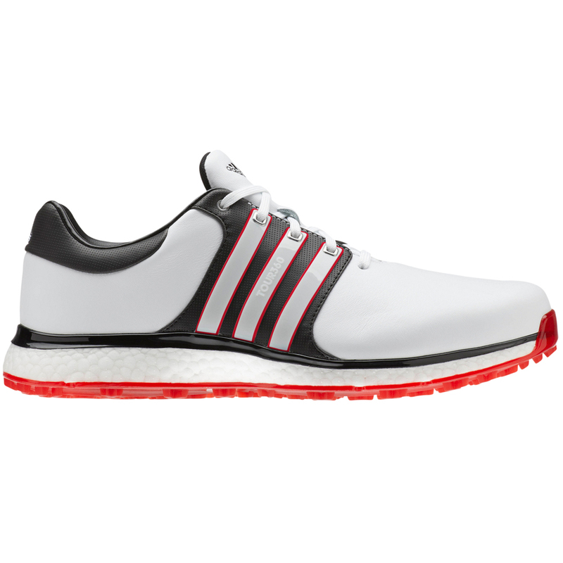 Adidas Tour360 XT SL Golf Shoes FTWR WhiteScarlet