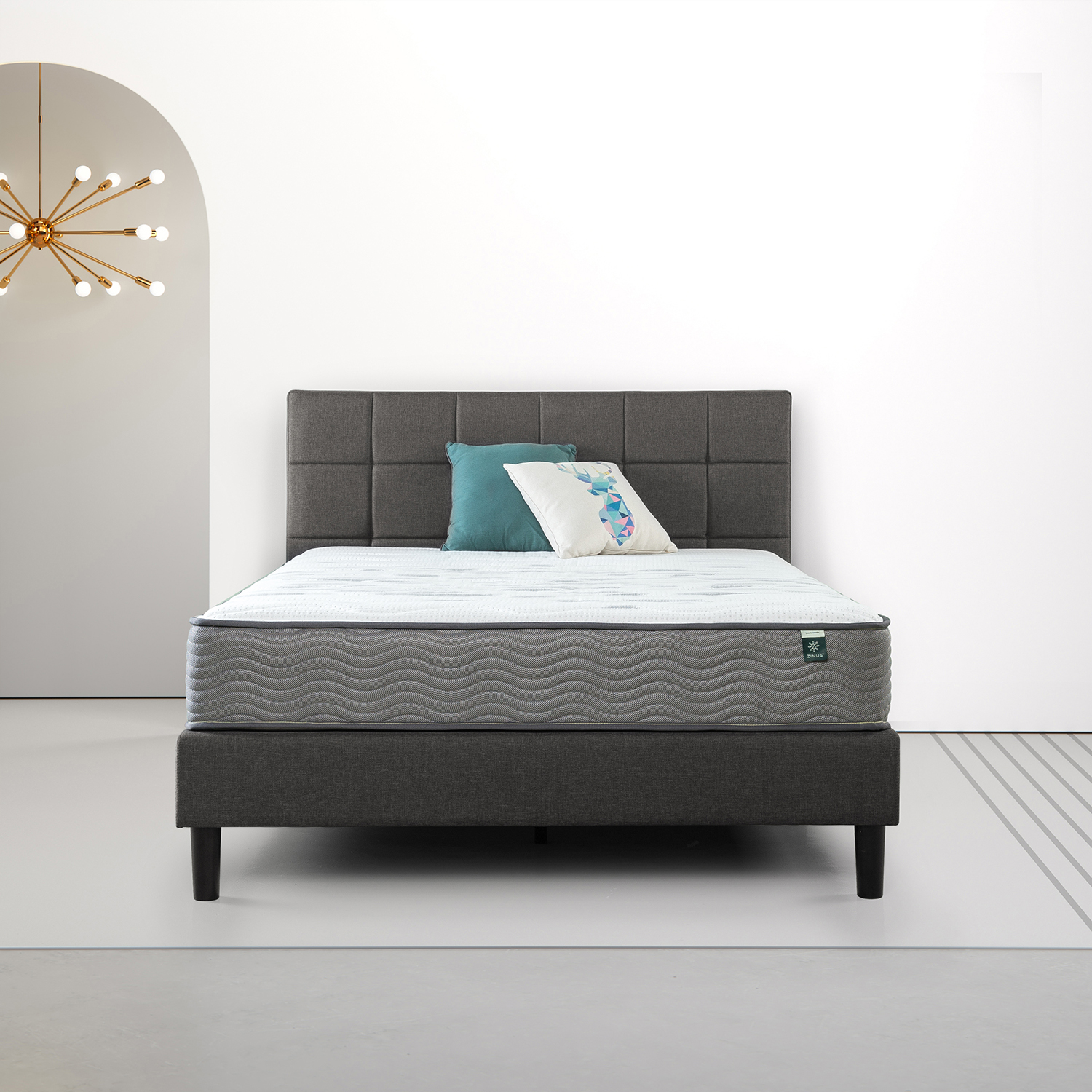 differently 61fa6 b23ab Tight Top Pocket Spring Mattress