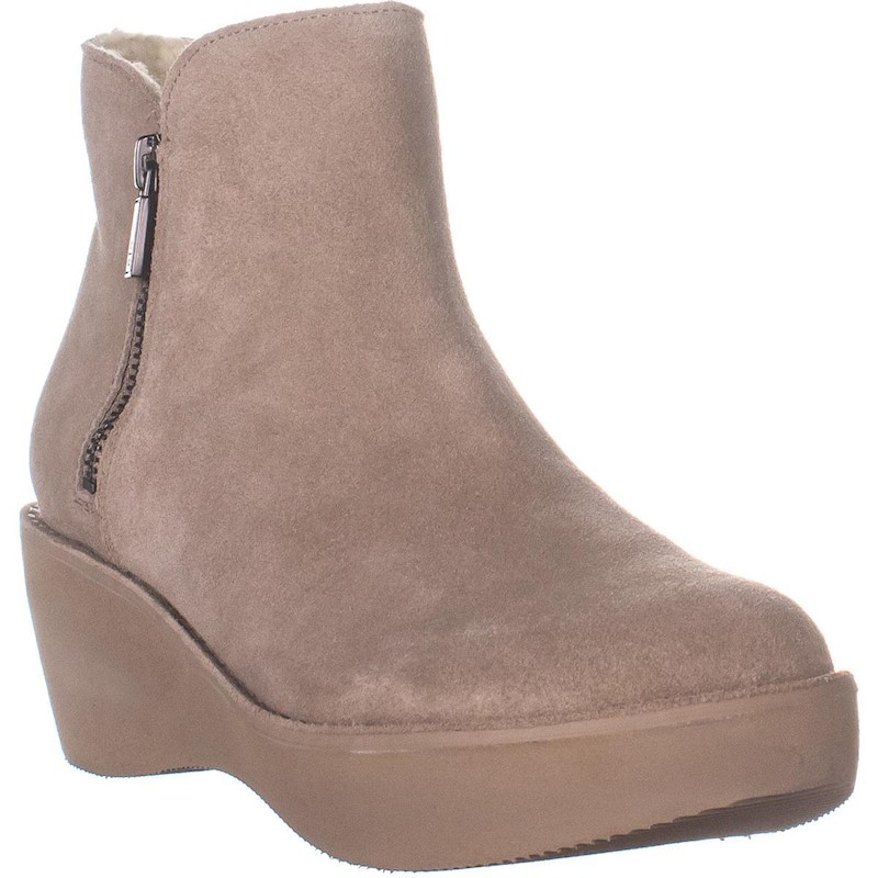 24988f3910c Kenneth Cole REACTION Prime Bootie Cozy Winter Boots, Taupe