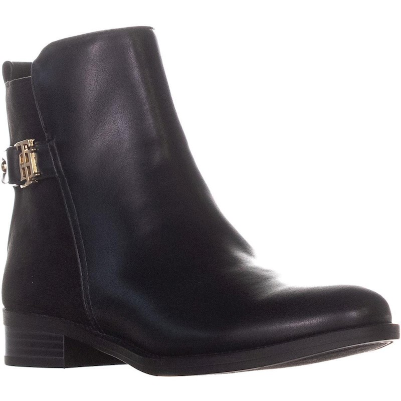 feaa5a83903 Tommy Hilfiger Irsela3 Ankle Boots, Black Multi   Buy Women's Boots ...