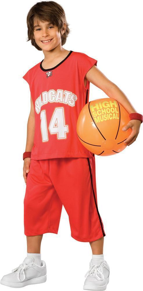 0f6d810506d h m s Remaining. High School Musical - Troy Bolton Wildcats Basketball  Costume
