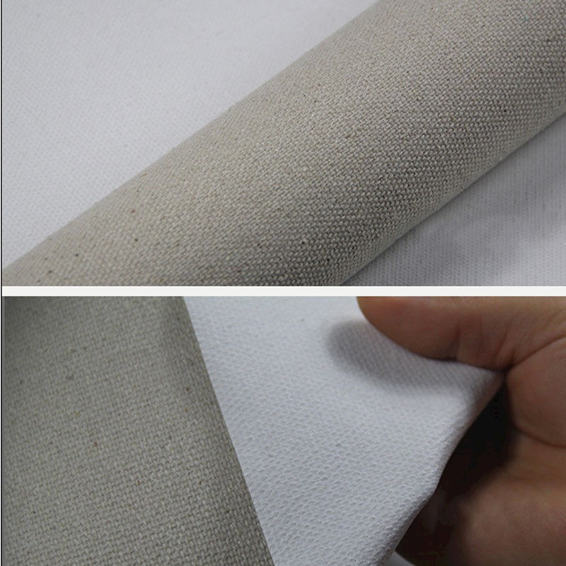 Triple Primed Artist Blank Canvas Roll 1 6m Wide Mixture of Linen and Cotton