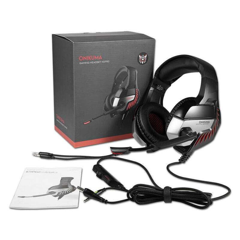 047010466b9 < Back to Gaming Headsets. h m s Remaining. ONIKUMA K5 Pro Stereo ...