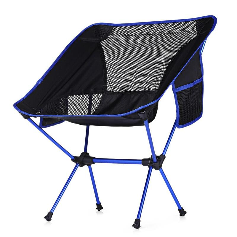 847006c7cf Portable Ultralight Heavy Duty Folding Chair for Outdoor Activities