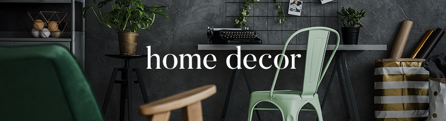 Home Decor Shop By Category