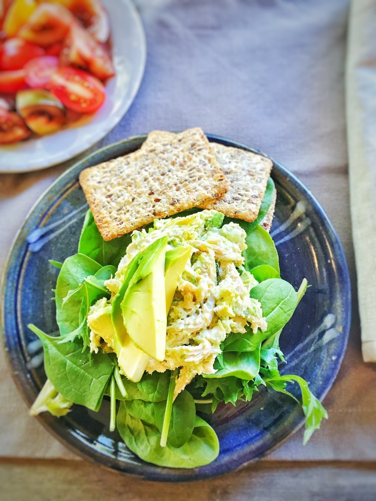 6 healthy office lunch recipes this shredded chicken avocado salad is perfect for healthy lunches at your desk the best part is that it is made from 12 of a roast chicken forumfinder Choice Image