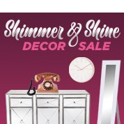 Shimmer & Shine Interior Sale