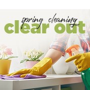 Spring Cleaning Clear Out Sale