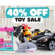 40% Off Toy Sale