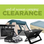 End of Season Camping Clearance