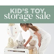 Kid's Toy Storage Sale