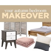 Your Autumn Bedroom Makeover
