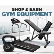 Shop & Earn Gym Equipment Sale