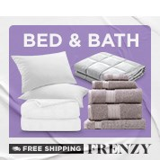 Free Shipping Frenzy: Bed & Bath