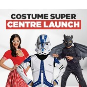 Costume Super Centre Launch Sale