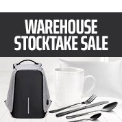 Warehouse Stocktake Sale