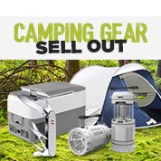 Camping Gear Sell Out