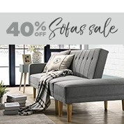 40% Off Sofas Sale