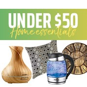 Under $50 Home Essentials