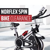 Norflex Spin Bike Clearance