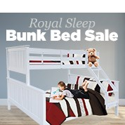 Royal Sleep Bunk Bed Sale