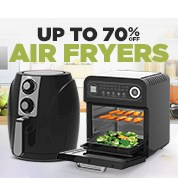 Up To 70% Off Air Fryers Sale