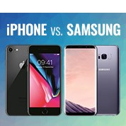 iPhone vs Samsung Sale