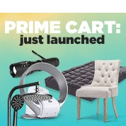 Prime Cart: Just Launched