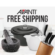Avanti Kitchenware Free Shipping Sale