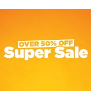 Over 50% Off Super Sale