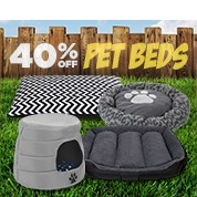 40% Off Pet Beds