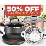 50% Off Cookware Sets