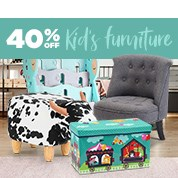 40% Off Kid's Furniture