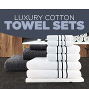 Luxury Cotton Towel Sets