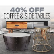 40% Off Coffee & Side Tables