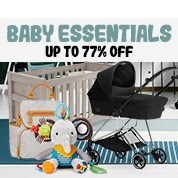 Baby Essentials Up To 77% Off