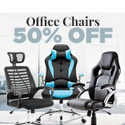 Office Chairs 50% Off