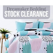 Dreamaker Bedding Stock Clearance