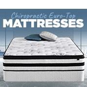 Up To 70% Off Chiropractic Euro-Top Mattresses