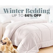 Up To 66% Off Winter Bedding