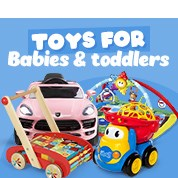 Toys For Babies & Toddlers